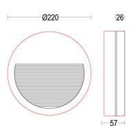 MaxiVerso Flat R RD Glass 220