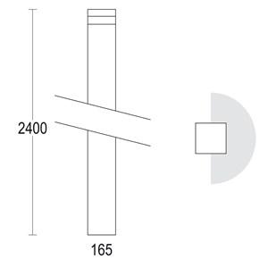 MaxiQuadro 2400 180°