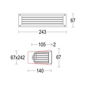 Margin Wall Grid 245x65