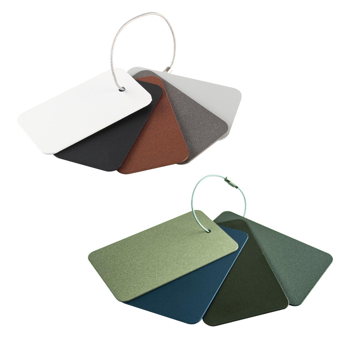 Standard color samples