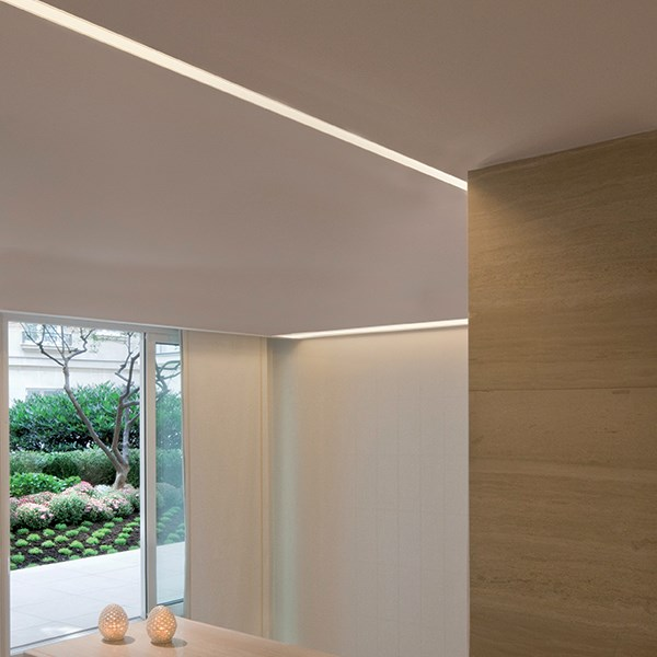 Recessed with frame